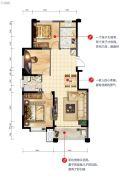 翡翠中央3室1厅1卫0平方米户型图