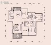 恩瑞御西湖4室2厅3卫198平方米户型图