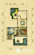 五矿龙湾别墅5室2厅5卫216平方米户型图
