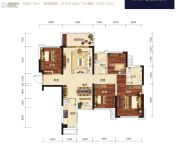 荣和公园悦府4室1厅2卫89--109平方米户型图