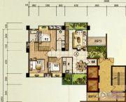 颐和山庄3室2厅2卫113平方米户型图