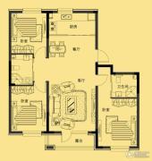 多恩海棠湾3室2厅2卫115平方米户型图
