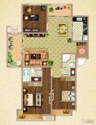 荣盛鹭岛荣府3室2厅2卫127平方米户型图