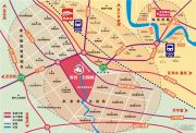 帝谷・公园城交通图
