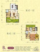 梦幻谷・�|方�A府5室3厅3卫277平方米户型图