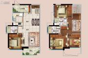 佳兆业城市广场4室2厅2卫125平方米户型图