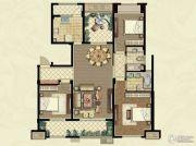 九龙仓碧堤半岛3室2厅2卫140平方米户型图