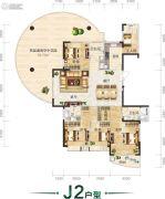 翰林居5室2厅4卫241平方米户型图