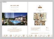 绿城宁波中心�m轩4室2厅3卫208平方米户型图