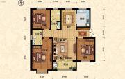 北斗星城・御府Ⅱ期3室2厅2卫126平方米户型图