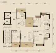 中锴・华章4室2厅2卫170平方米户型图