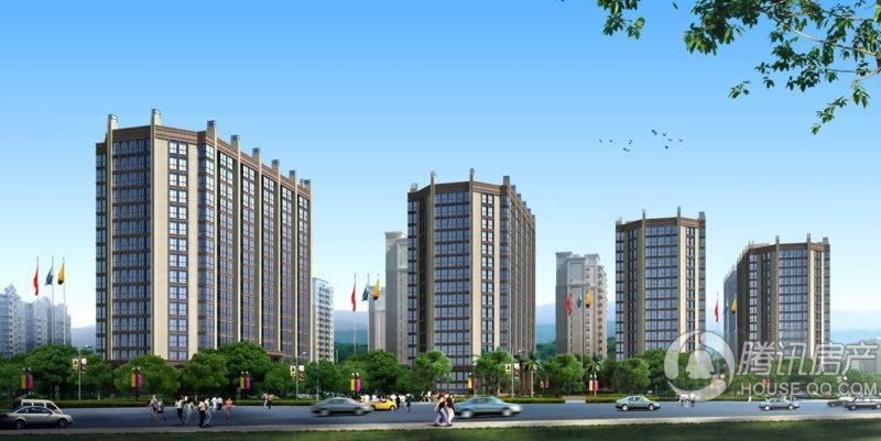 海西佰悦城SOHO公寓效果图