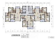随州锦绣大地3室2厅2卫125--126平方米户型图