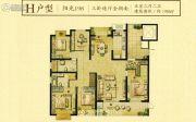 荣记玖珑湾5室2厅0卫198平方米户型图