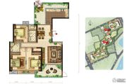 美景嘉园4室2厅2卫164平方米户型图