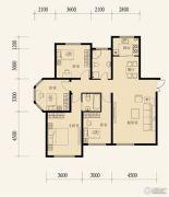 东地天澜4室2厅2卫141平方米户型图