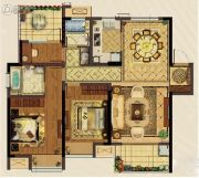 义乌新城吾悦广场3室2厅2卫0平方米户型图