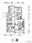 世外桃苑三期4室0厅2卫214平方米户型图