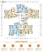 胜利茶博城83--139平方米户型图