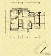 长江国际社区巴塞罗那庄园2室2厅2卫117平方米户型图