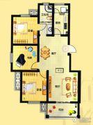 融通香槟小镇3室2厅1卫0平方米户型图