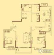 宏伟西雅图3室2厅2卫123平方米户型图