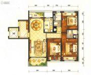 碧桂园半山龙庭3室2厅2卫120平方米户型图