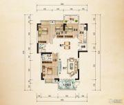 熙岸尚城二期4室2厅2卫146平方米户型图