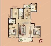 爱法山水国际3室2厅2卫140平方米户型图