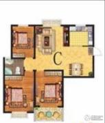 春晓・金水湾3室2厅1卫0平方米户型图