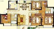 德阳万达广场4室2厅2卫118--130平方米户型图