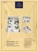 恒生・金元大厦1室1厅1卫106平方米户型图