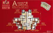 台山昌大昌广场3室2厅2卫122平方米户型图