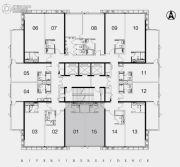 江湾2981室1厅1卫60平方米户型图