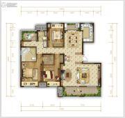 华润公园九里3室2厅2卫0平方米户型图