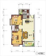 天禾春城2室2厅1卫0平方米户型图