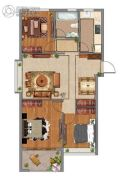 紫微台3室2厅1卫106--112平方米户型图