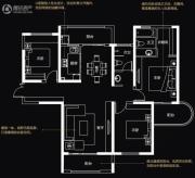 国润城3室2厅2卫132平方米户型图