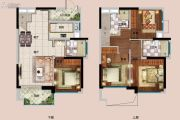 佳兆业城市广场0室0厅0卫91平方米户型图