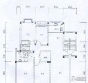 水岸帝景 高层4室2厅2卫135平方米户型图