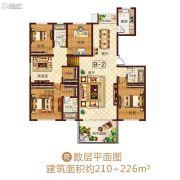 龙之光・国际中心4室2厅3卫0平方米户型图
