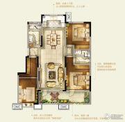 卓越皇后道千山外3室2厅2卫115平方米户型图