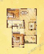 许继天宝盛世花园2室2厅1卫92平方米户型图