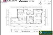 世纪・领寓4室2厅2卫0平方米户型图