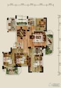 赞成香林4室2厅2卫146平方米户型图
