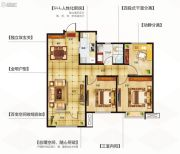 永泰城3室2厅1卫101平方米户型图