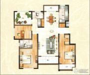 绿地泰晤士新城3室2厅2卫126平方米户型图