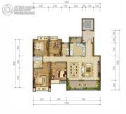 雅居乐富春山居4室2厅2卫123--152平方米户型图