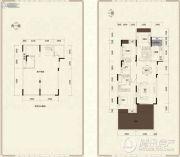 美的城3室2厅2卫0平方米户型图
