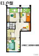 慷豆・创享城3室1厅1卫0平方米户型图